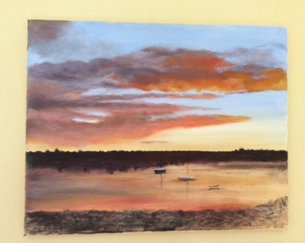 Alnmouth Sunset by Gill Gooch